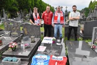 Wordt graf van Johny Turbo, in schaduw van stadion, bedevaartsoord voor KVK-supporter?