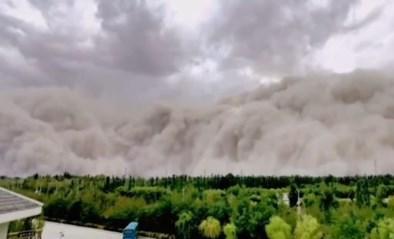 Apocalyptische zandstorm begraaft Chinese stad in amper vijf minuten