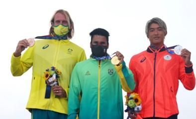 Brazilië en VS strijken eerste gouden medailles op in het surfen