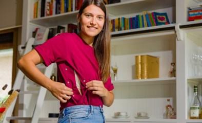 Handige T-shirts van Latte Mamiato helpen mama's bij het geven van borstvoeding