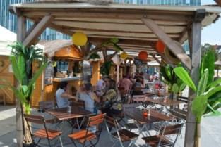 Esplanade van administratieve wijk krijgt in augustus een muziekpodium