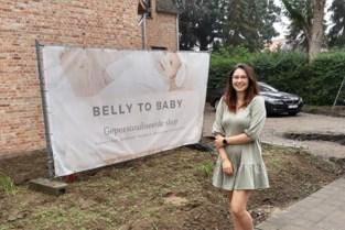 Webshop voor gepersonaliseerde babyspulletjes is zo'n succes dat Elise nu ook fysieke winkel opent