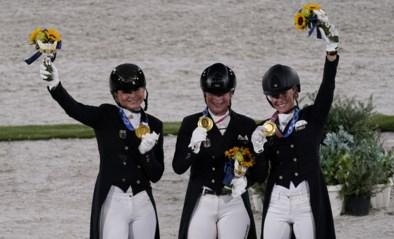 Duitse dressuurruiters pakken goud, zevende olympische titel voor Werth