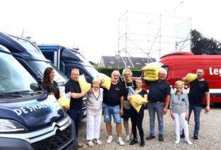 Snackcar uit Maasmechelen deelt 500 gratis frietjes met frikandel uit in Wallonië