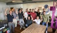 """Met zijn allen achter de collega op de Olympische Spelen: """"Twee weken geleden nog samen in de meeting room, nu met de 3x3 Lions in Tokio"""""""