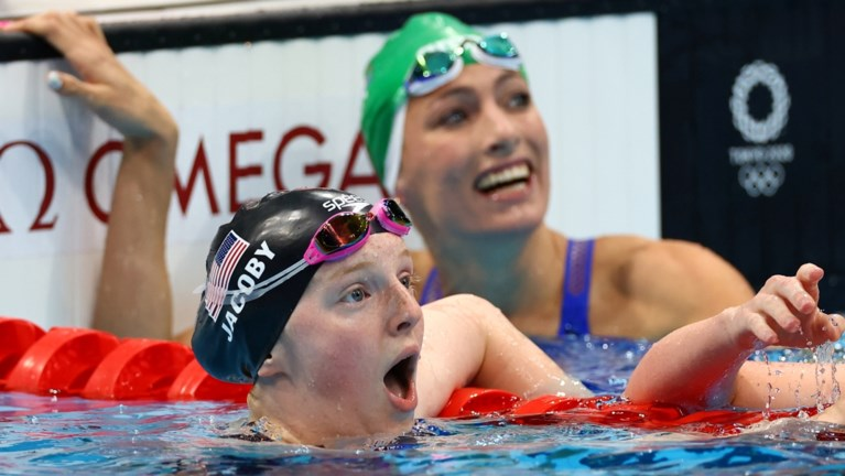 Dit hebt u deze nacht gemist: Casse speelt met vuur, geen tweede finale voor Croenen, 17-jarige uit Alaska verbaast zwemwereld