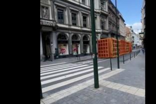 Wafels en frieten rijden door Brussel
