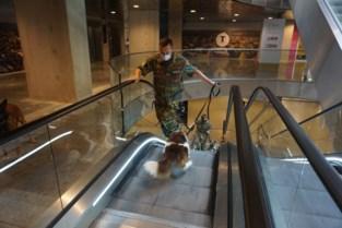 Defensie traint honden op roltrap Turnova