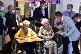 """Woonzorgcentrum viert twee 100-jarigen: """"Elke dag honing en één glas rode wijn"""""""