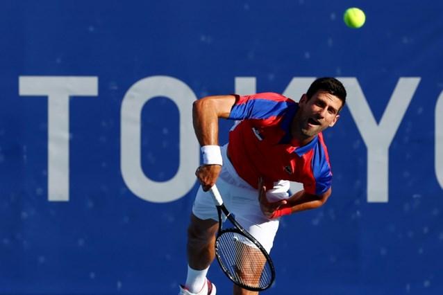 Novak Djokovic stoomt in Tokio door naar kwartfinales