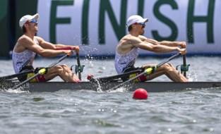 TEAM BELGIUM LIVE. Brys en Van Zandweghe roeien naar olympische finale, Lianne Tan uitgeschakeld