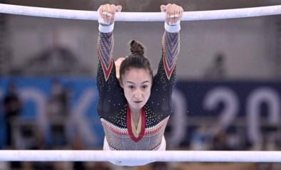 """Nina Derwael is medaille-outsider in prestigieuze allroundfinale: """"Ik ga mijn brug nog eens oefenen"""""""