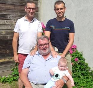 Familie Sprangers viert viergeslacht