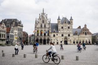Stadhuis kleurt blauw als symbool tegen mensenhandel