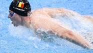 Geen halve finales voor Louis Croenen op100m vlinderslag