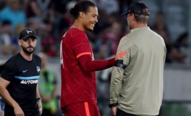 Na 285 dagen blessureleed: Virgil van Dijk maakt rentree bij Liverpool in oefenwedstrijd