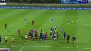 'Vriendschappelijke' wedstrijd tussen Porto en AS Roma ontaardt in duw- en trekwerk: Pepe (natuurlijk) aanstoker