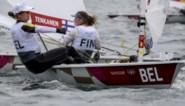 Zeilster Emma Plasschaert blijft vierde in Laser Radial-klasse en ligt op medaillekoers