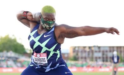 De kogelstootster die haar eigen feestdag kreeg: wie is Raven Saunders (25), de Hulk met een kwetsbaar kantje?