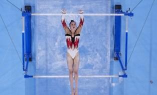 TEAM BELGIUM LIVE. Nina Derwael rukt op naar plaats 5, Jutta Verkest haalt na twee onderdelen ook de top 15