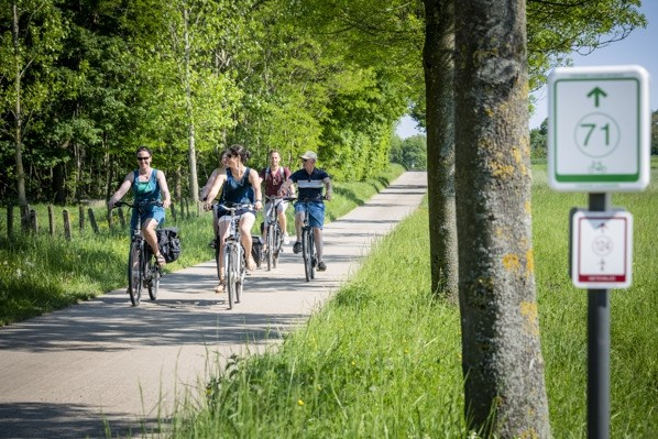 Grootouders Gezinsbond opnieuw op de fiets