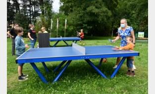 Londerzeel plaatst tafeltennistafels
