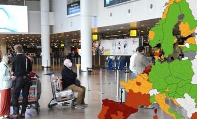 Steeds minder groen op Europese coronakaart: helft van Frankrijk kleurt rood, Italië kleurt bijna helemaal oranje