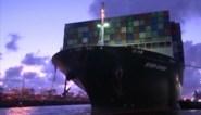 Containerschip Ever Given komt eindelijk aan in haven van Rotterdam