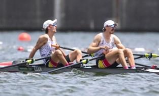 Tim Brys en Niels Van Zandweghe strandden op een vijfde plaats in hun Olympische finale