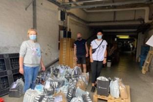 """Badstad stuurt hulppakketten naar getroffen gebieden in Wallonië: """"Bezoek heeft diepe indruk nagelaten"""""""