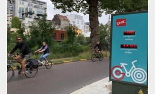 Aantal fietsers in Gent nog beter geteld dankzij twee nieuwe 'fietstelpalen'