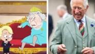 ROYALS. Het tekenfilmpje dat ze in Groot-Brittannië niet graag zien en het gegniffel van prins Charles