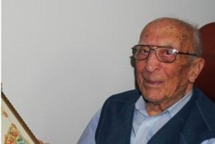 Jozef (107) is de nieuwe oudste mannelijke Belg