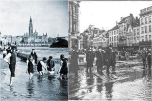 Zo was de Antwerpse zomer in de vorige eeuw: hittegolf en onweer