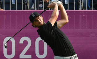TEAM BELGIUM LIVE. Plasschaert schuift op naar plaats 3, golfers gestopt door bliksemgevaar