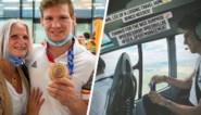 Belgische medaillewinnaars zijn terug: Matthias Casse geland op Schiphol, Wout van Aert onderweg met helikopter