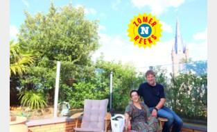 Een stukje Marrakesh in hartje Eeklo: Nagiba en Eddy bouwden hun dakterras om tot Arabische tuin