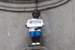 Expo over mensenhandel in Brussels stadhuis