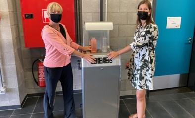 Sporthal Rooienberg plaatst twee drinkwatertoestellen