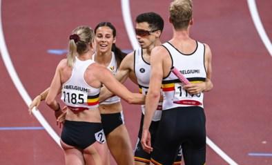 TEAM BELGIUM LIVE. Mixed Relay stoot door met nationaal record, Isaac Kimeli loopt finale 10.000m