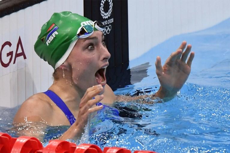 De hoogtepunten van dag 7: wereldrecord in het zwemmen, Nederlander pakt olympisch goud met gebroken knieschijf