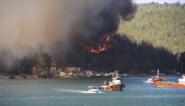 Toeristen in zuiden van Turkije geëvacueerd wegens bosbranden: minstens 4 doden en 200 gewonden