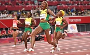 OS LIVE. Elaine Thompson volgt zichzelf op als olympisch kampioene op de 100 meter, geen medaille voor Djokovic