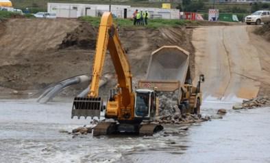 Dam dwars door de Maas voor nieuwe leiding van PALL