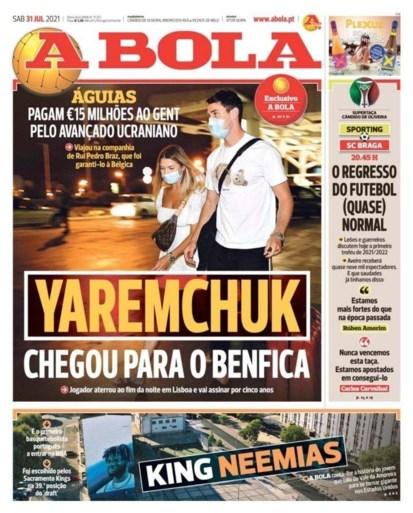 Roman Yaremchuk op weg naar Benfica: AA Gent mag 20 miljoen bijschrijven op de rekening