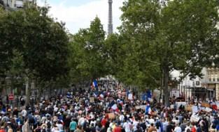 Opnieuw protesten tegen coronamaatregelen in Frankrijk