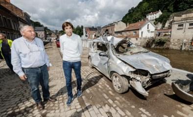 """Di Rupo over overstromingen: """"Heropbouw zal anderhalf tot twee jaar duren"""""""