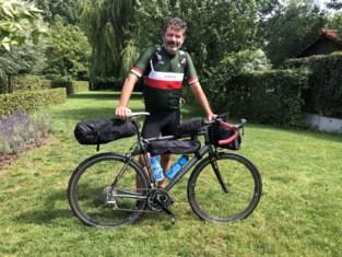 Noël fietst 950 kilometer langs de Maas ten voordele van slachtoffers van watersnood