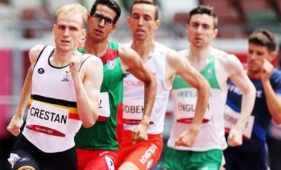 Eliott Crestan kwalificeert zich voor de halve finales van de 800m ondanks slapeloze nacht