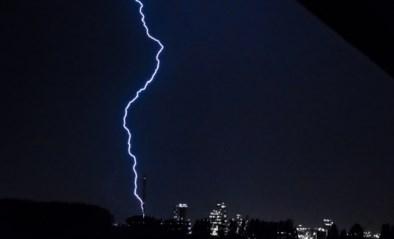Opnieuw stevige onweersbuien voorspeld: code geel voor bijna heel België